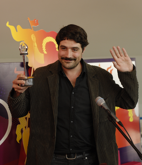 Johannes Naber received the Special Jury Prize for his debut The Albanian (Der Albaner), courtesy Vladimir Maximov/MIFF
