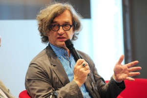 Wim Wenders in conversation about 3D, courtesy Heike Herbertz/Filmstiftung NRW