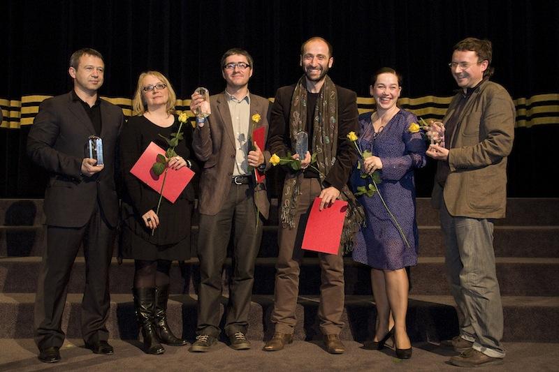 Prize-winners of goEast 2011, courtesy Stefan Adrian/goEast