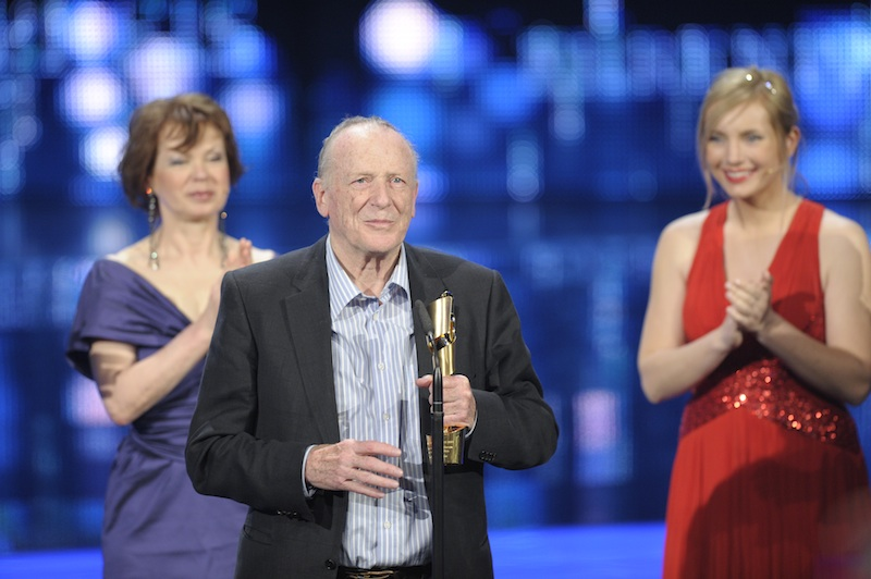 Wolfgang Kohlhaase received the Honorary Award, courtesy Deutsche Filmakademie/Michael Tinnefeld
