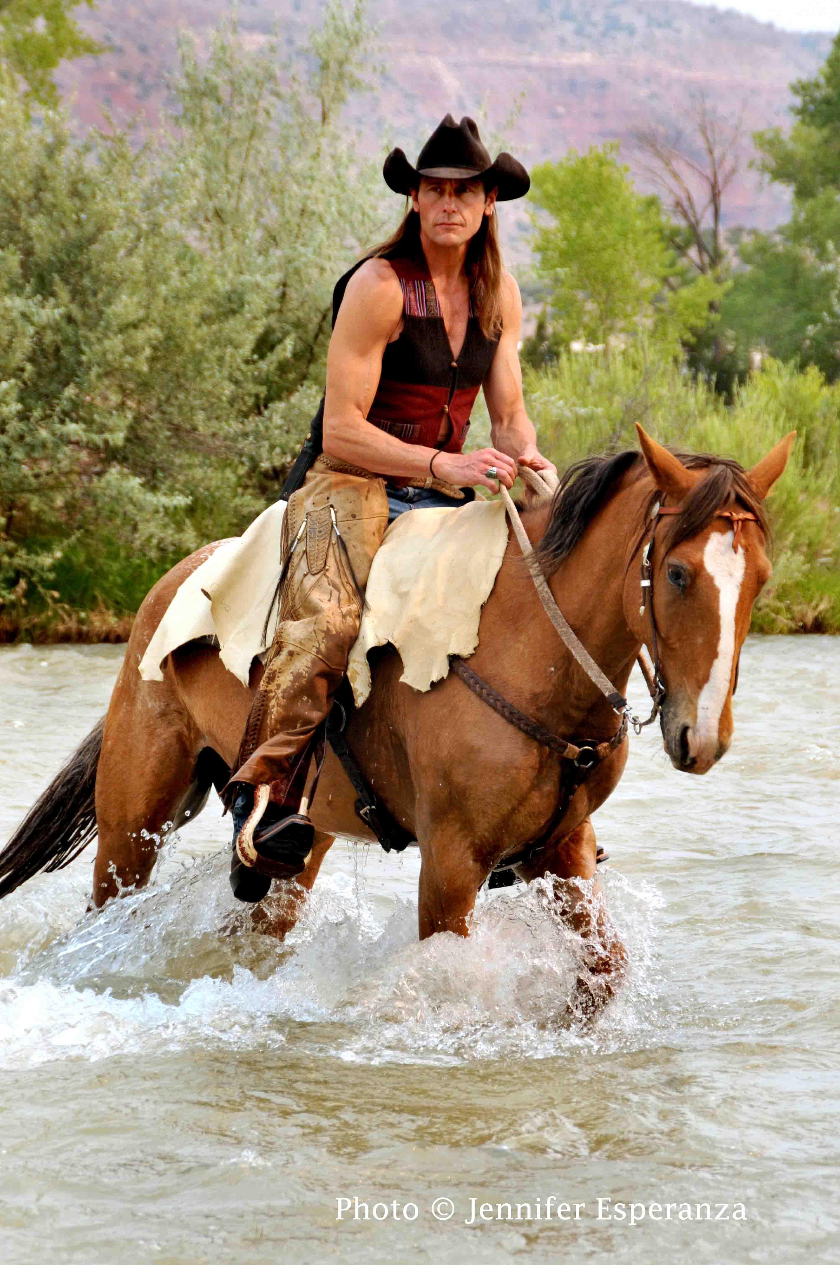 James Anaquad Kleinert in Wild Horses and Renegades, courtesy Jennifer Esperanza
