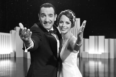 Scene from The Artist with Jean Dujardin and Bérénice Béjo, courtesy Cannes Film Festival 2011