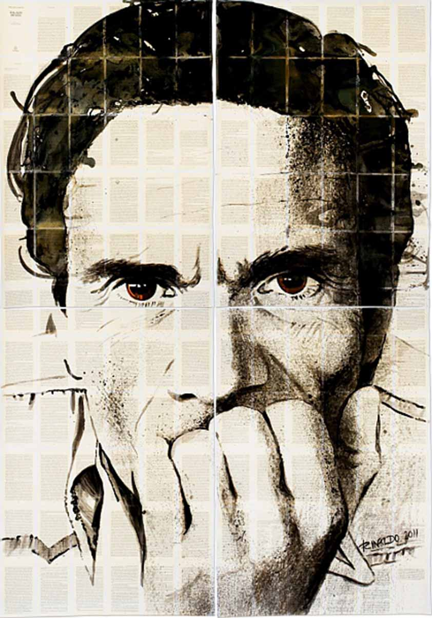 Pasolini by Rinaldo Hopf, courtesy: Schwules Museum