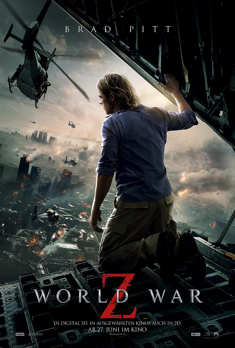 World War Z-Filmplakat, courtesy Paramount Pictures