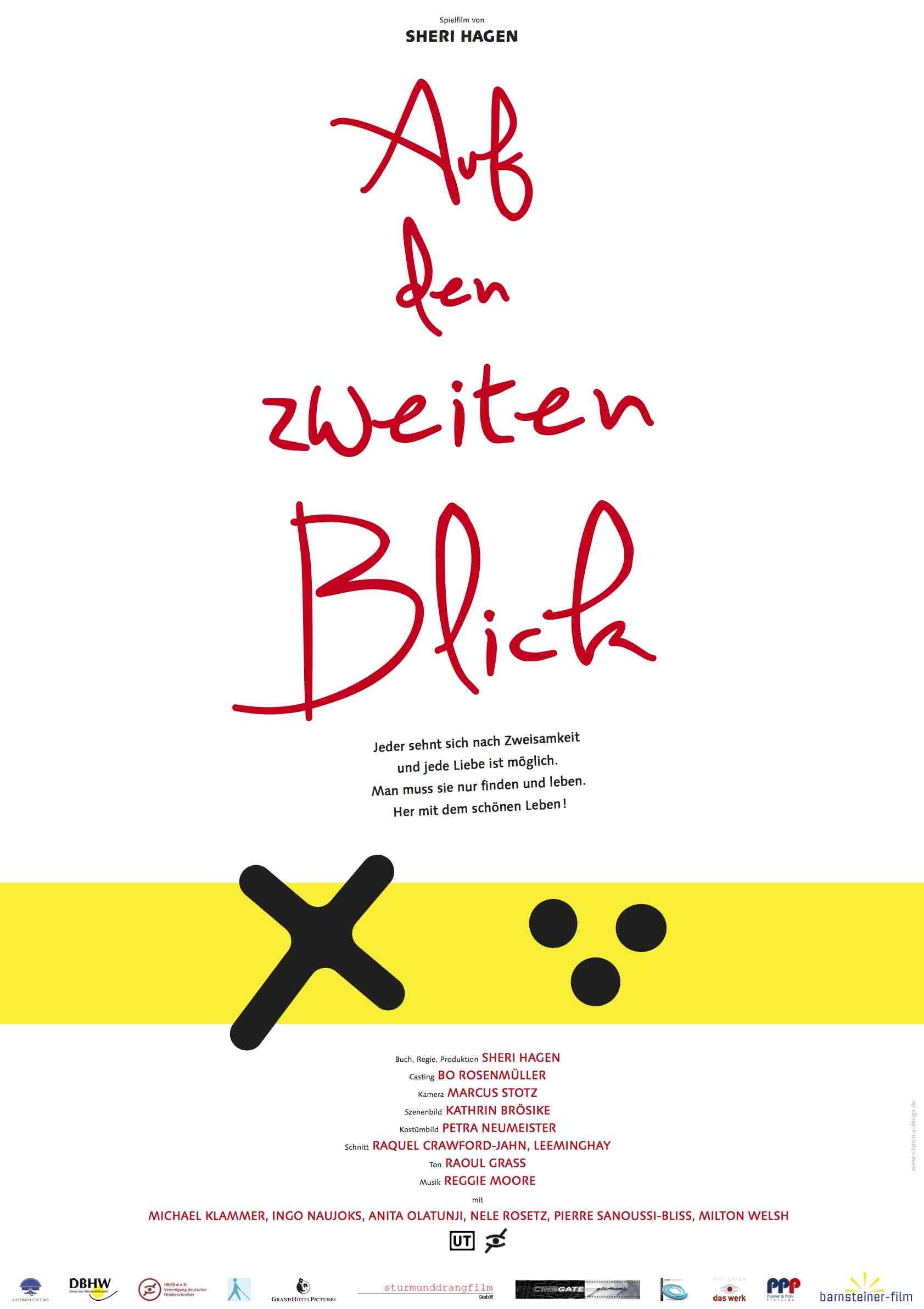 Auf den zweiten Blick, Filmplakat courtesy barnsteiner-film