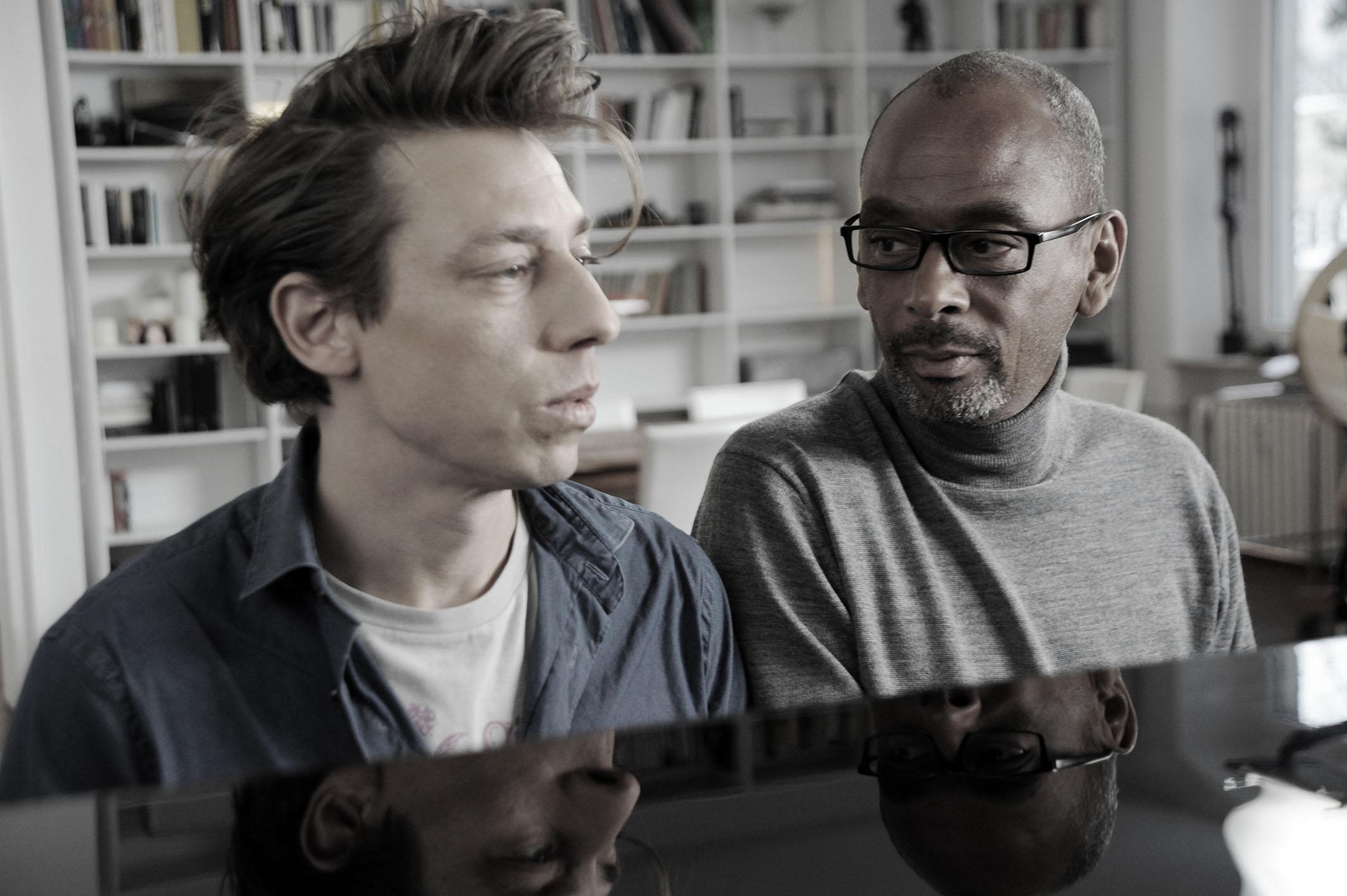 Pierre Sanoussi-Bliss und Milton Welsh, courtesy barnsteiner-film