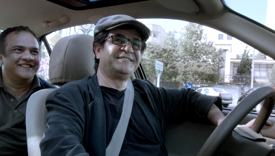 Jahar Panahi in Taxi, courtesy Berlinale