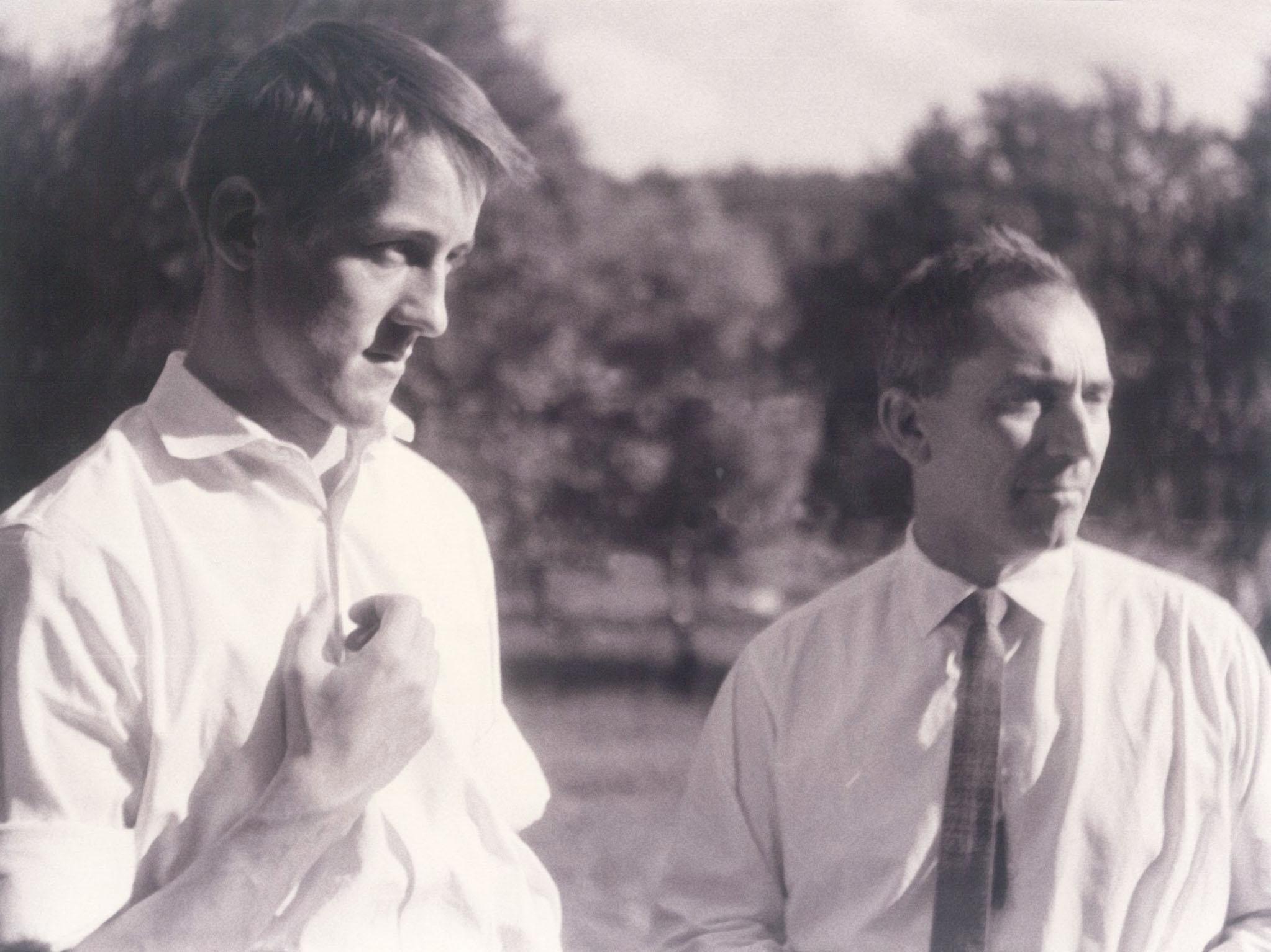 Winfried Junge und Karl Gass